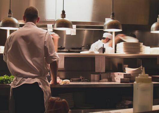 Kitchens and restaurants