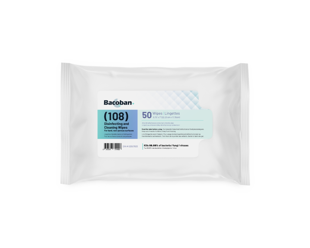 Bacoban 108 Wipes