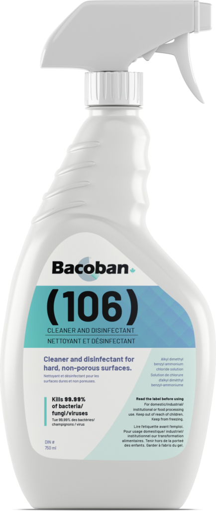 Bacoban 106 Cleaner and Disinfectant
